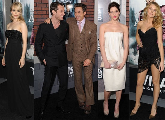 Photos of Rachel McAdams, Ashley Greene, Blake Lively At NYC Premiere of Sherlock Holmes