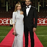 """Jesinta Campbell and Lance """"Buddy"""" Franklin made a gorgeous pair at the 2014 Brownlow Medal Sydney Function on Monday night."""