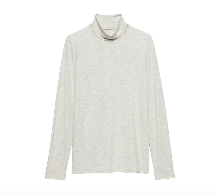 Threadsoft Turtleneck T-Shirt