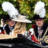 Prince Andrew and Prince William