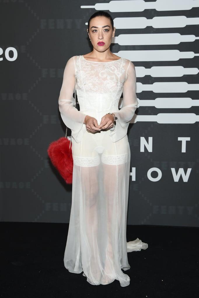Mia Moretti at the Savage x Fenty New York Fashion Week Show
