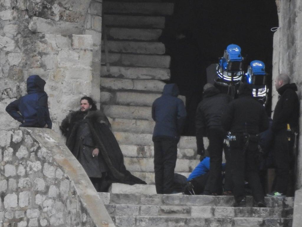 Game Of Thrones Season 8 Set Pictures Popsugar Entertainment