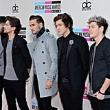 One Direction at the American Music Awards in 2013