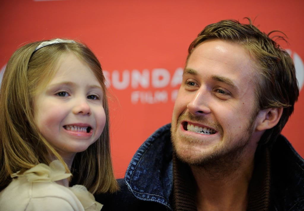 Ryan and his cute Blue Valentine costar made cheesy smiles at the camera during the 2010 Sundance Film Festival.