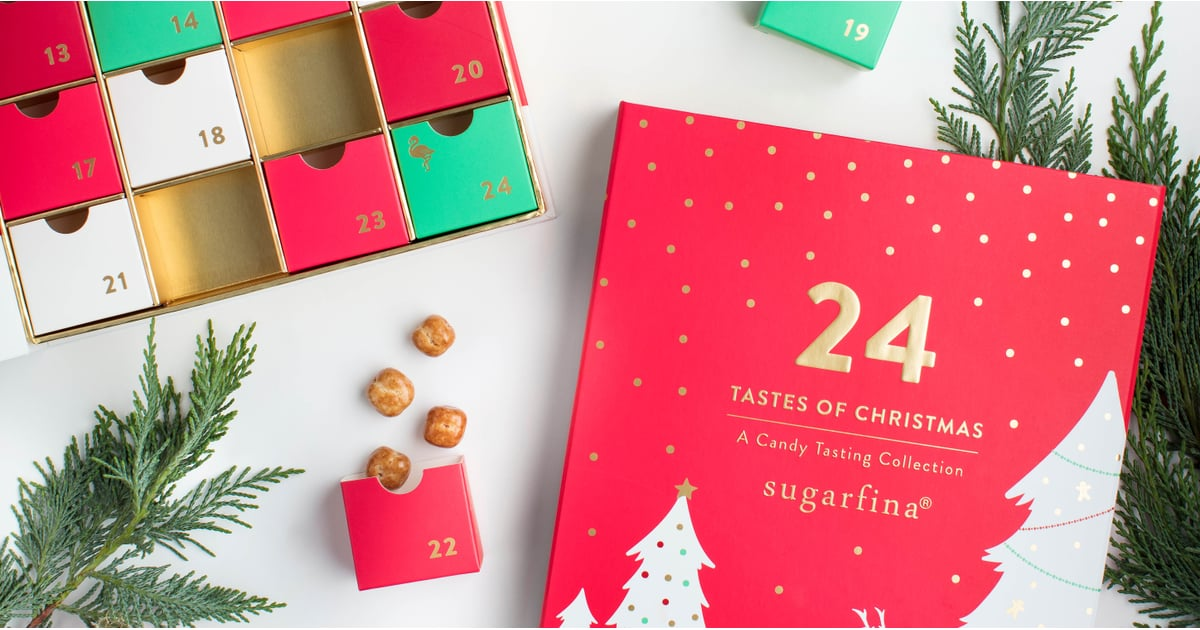 sugarfina advent calendar 2018 popsugar food. Black Bedroom Furniture Sets. Home Design Ideas