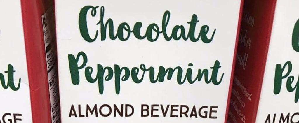 Trader Joe's Chocolate Peppermint Almond Drink