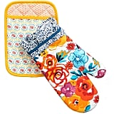 The Pioneer Woman Flea Market Pot Holder/Oven Mitt Set ($6)