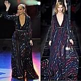 Jennifer Lopez's Fall 2015 Blumarine dress.