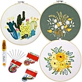 3-Pack Embroidery Starter Kit