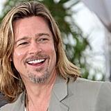 Brad Pitt Brings a Bit of Sun to Rainy Cannes