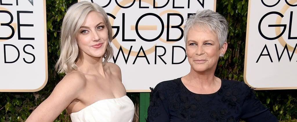 Jamie Lee Curtis's Hair at Golden Globes 2016