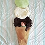 Creative Newborn Photos Using Blankets