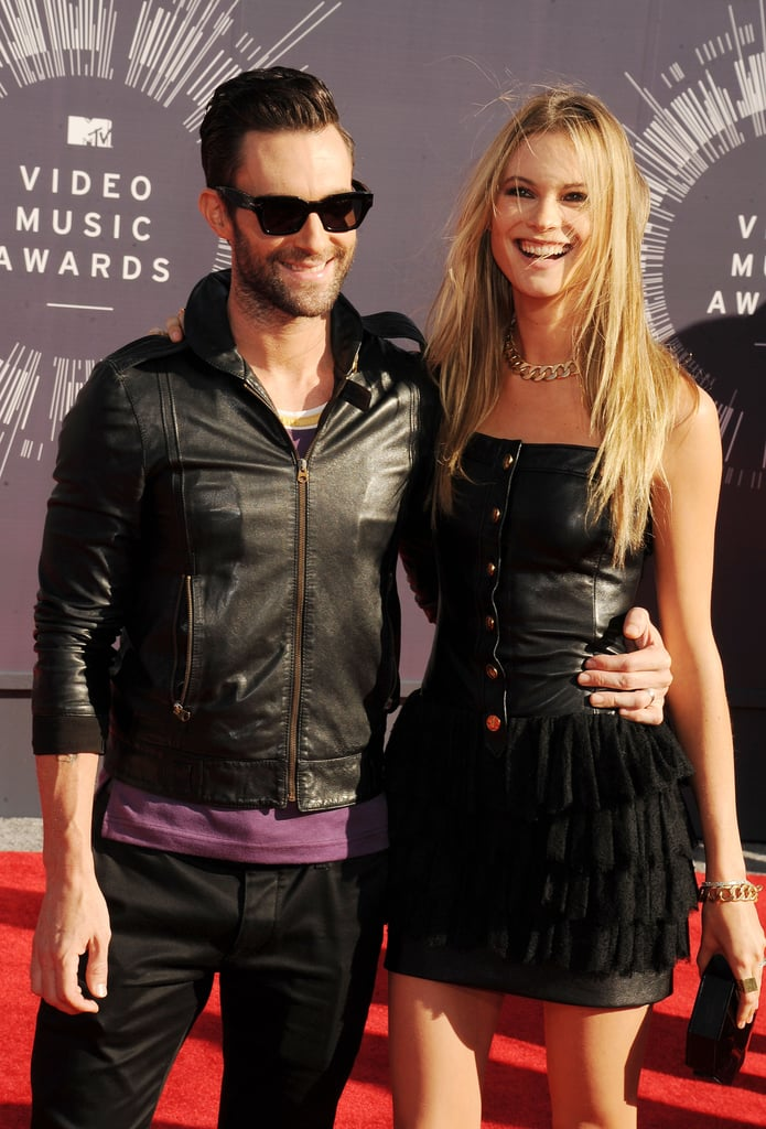 Adam Levine and Behati Prinsloo, 2014