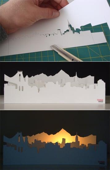 DIY: SwissMiss Alpenglow Votive