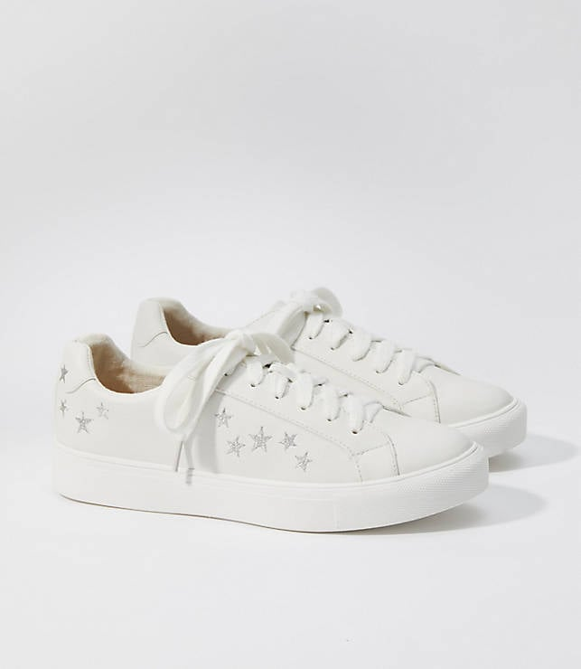 Star Embroidered Sneakers