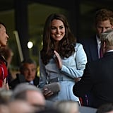 Kate Middleton Olympics Opening Ceremony Pictures