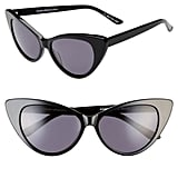 Something Navy 55mm Cat Eye Sunglasses