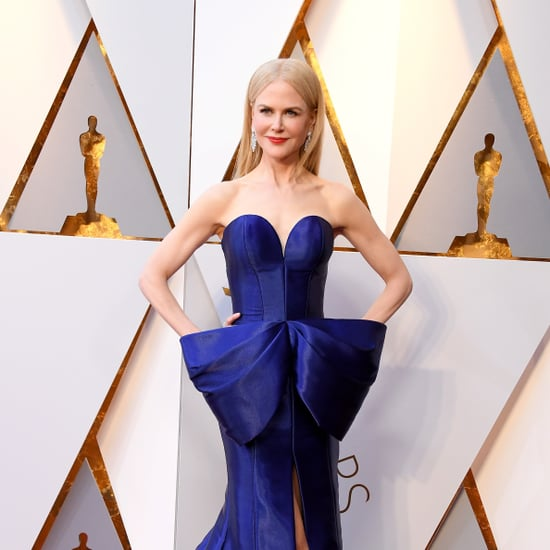 Nicole Kidman Armani Dress Oscars 2018