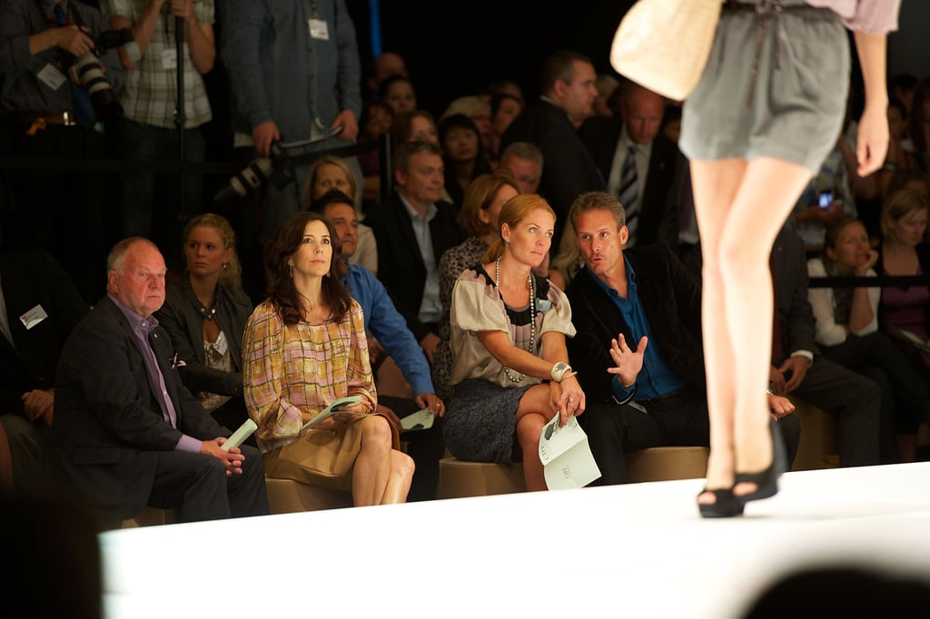 She's Sat Front Row at Fashion Shows