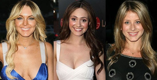 Lauren Bosworth, Lindsay Lohan and Emmy Rossum's laid-back layers