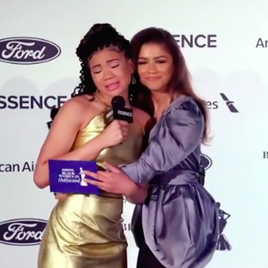 Watch Storm Reid and Zendaya's Emotional Essence Interview