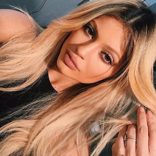 Kylie Jenner With Blonde Hair | 2015