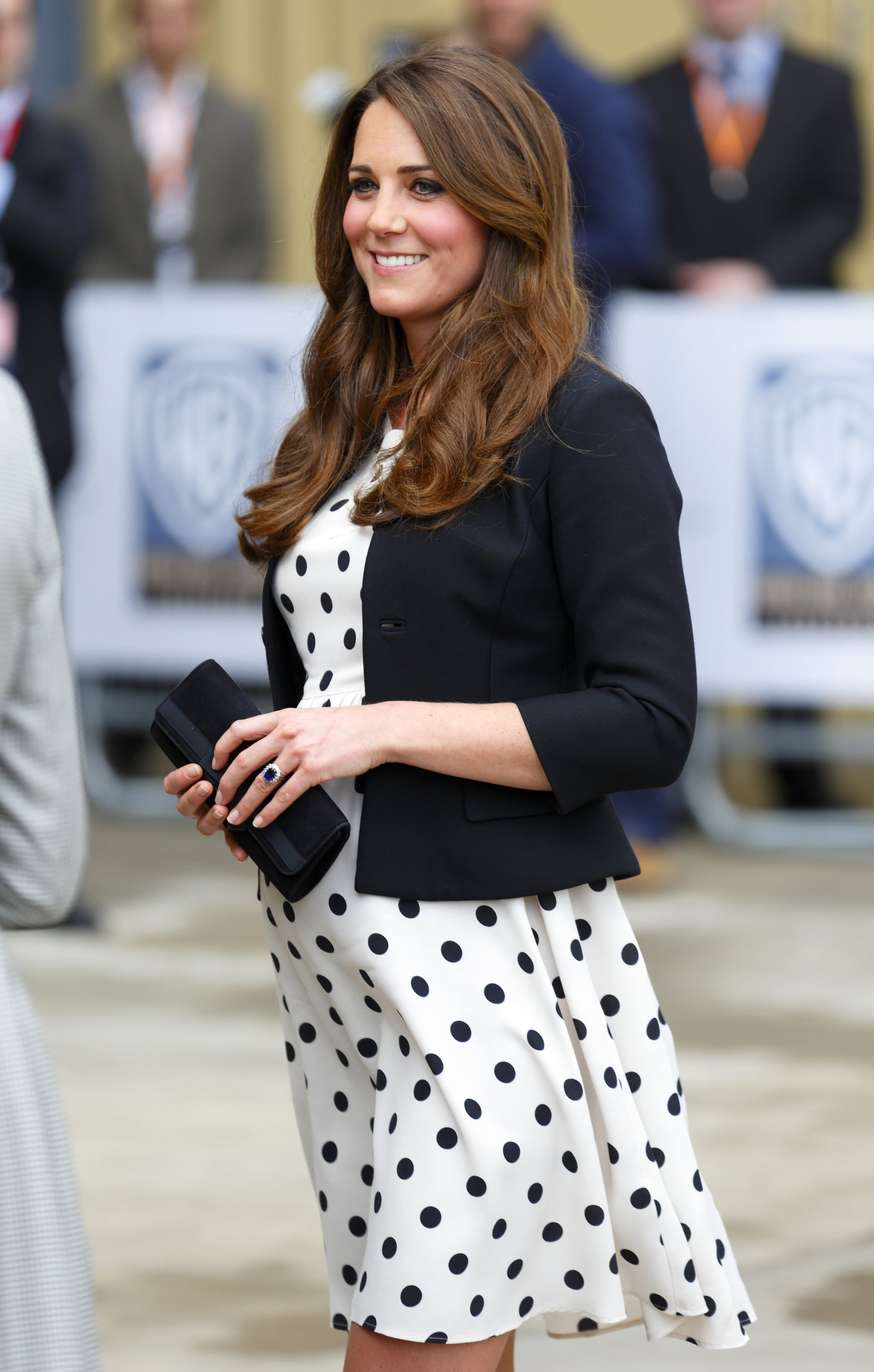 Kate Middleton wore a Topshop dress.