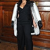 Alicia Keys was on hand for YSL.