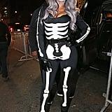 La La Anthony as a Skeleton