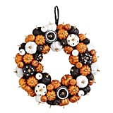 Multicolor Mini Pumpkins Wreath