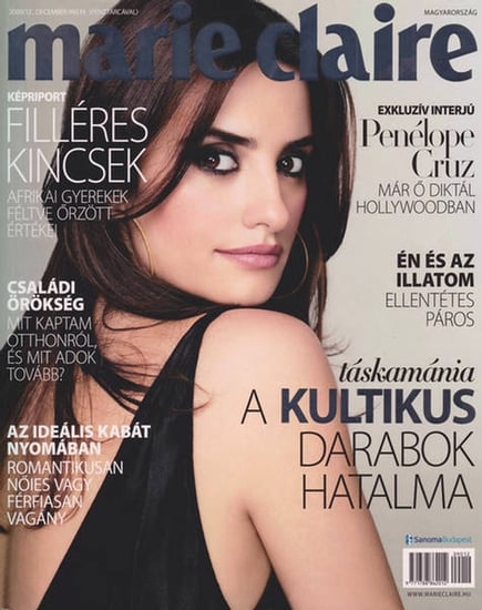 Penelope Cruz does Marie Claire Hungary-december 09
