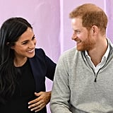 Prince Harry's Joke About Meghan Markle's Pregnancy