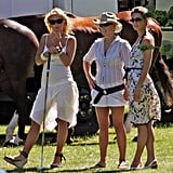 Kate Middleton and Zara Tindall at the Rundle Cup in 2006