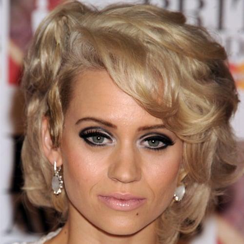 Kimberly Wyatt's Beauty Look at the 2011 Brit Awards