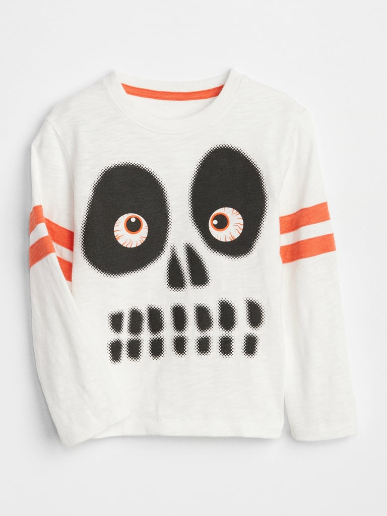 gap graphic skeleton tee | halloween clothes for kids 2018