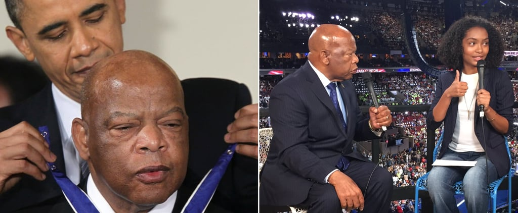 Read Celebrity Tributes to Rep. John Lewis