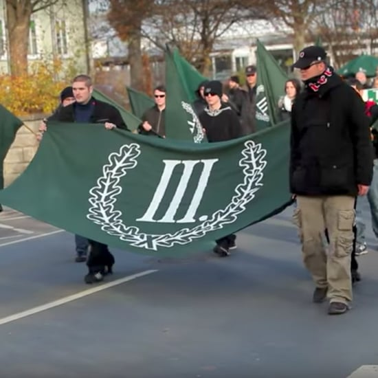 Neo-Nazi Walkathon in Germany