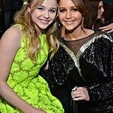 Chloë Moretz and Jennifer Lawrence
