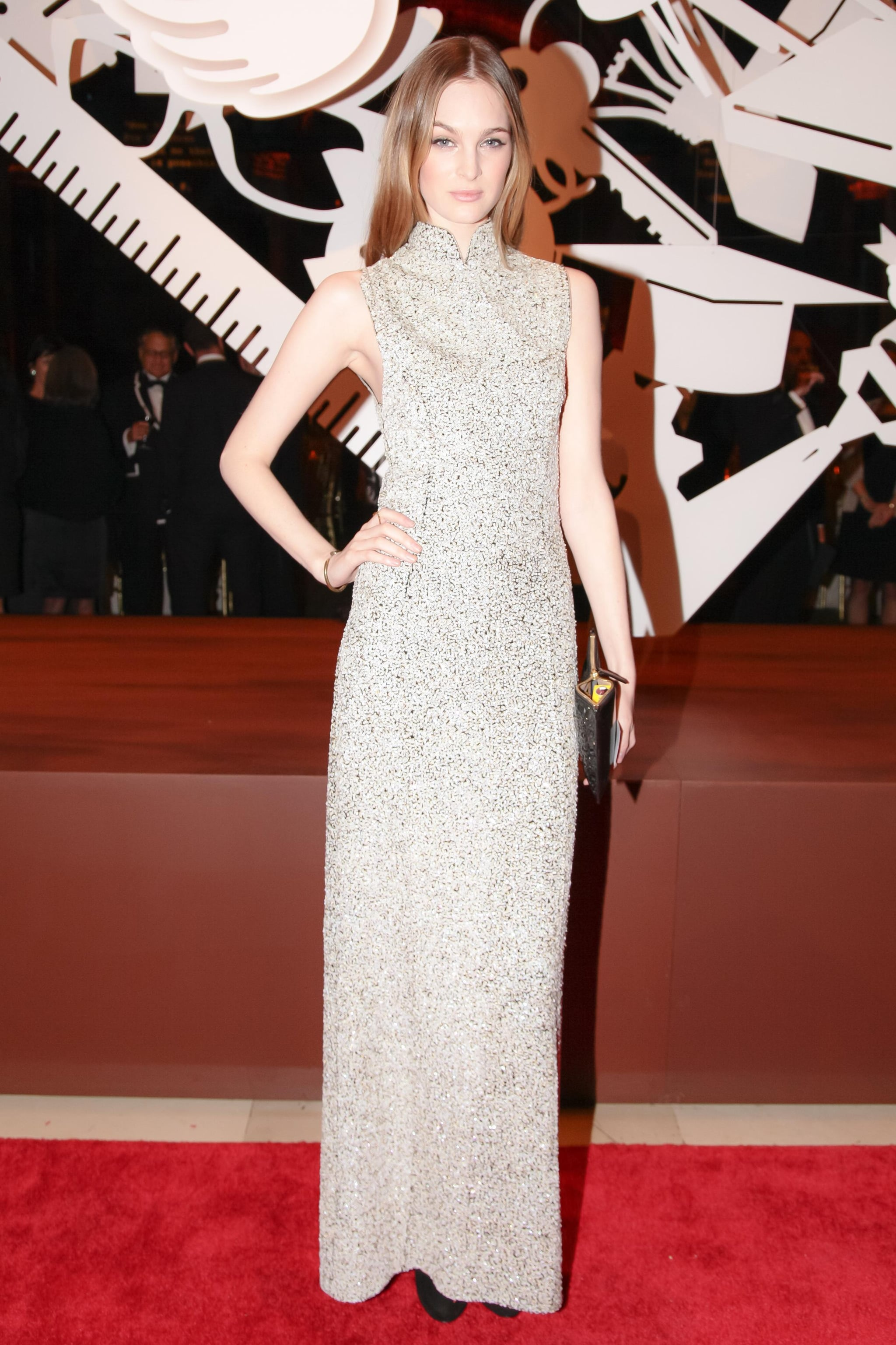 Laura Love was a golden girl at the New Yorkers for Children annual event.