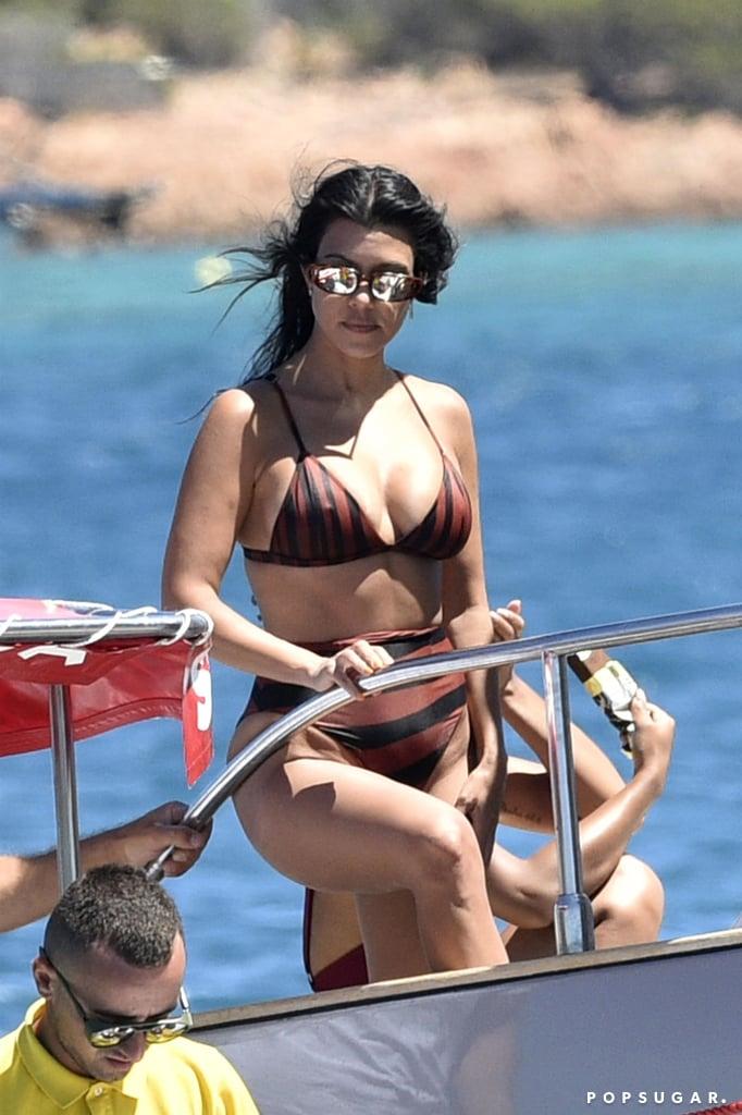 Kourtney Kardashian Bikini Pictures in Italy July 2019 ...