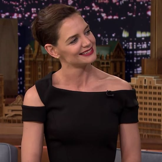 Katie Holmes's Beyonce Dance on Jimmy Fallon February 2016