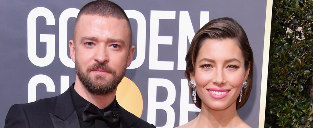 Jessica Biel Was Carried to the Golden Globes Afterparty by Her Husband