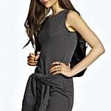 Boohoo Pixie Sleeveless Sweat Tie Front Dress (£5)
