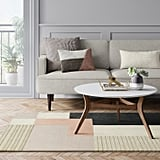 Color Block Tufted Rug