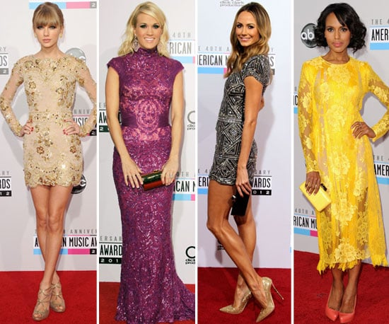 Who was Best Dressed at the 2012 American Music Awards?