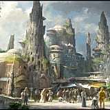 Watch this video from Lucasfilm and Disney's Imagineering team about the park design process.