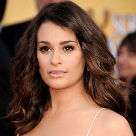 Get Lea Michele's Makeup from the 2011 SAG Awards