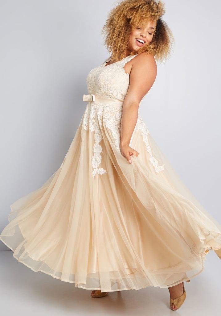 b7f311c1cbfb Memorable Magic Maxi Dress in Tea
