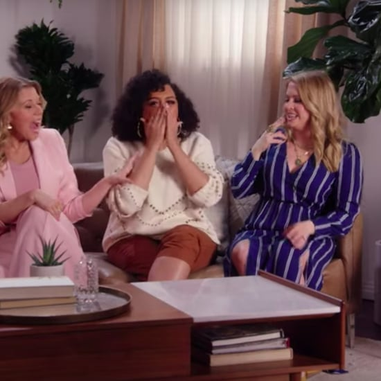 Melissa Joan Hart, Tia Mowry, and Jodie Sweetin Play Game