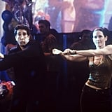 Let's not forget about Ross's amazing New Year's Eve outfit (and his memorable dance routine with Monica).